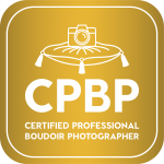 Certified Professional Boudoir Photographer badge